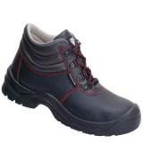 A410 ADAM half hoge schoen rundleer zwart S3