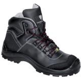 C420 CONAN half hoge schoen rundleer zwart