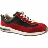 D374 DEMY lage damesschoen rood S1 SRC