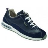 D380 DANNY uniseks lage schoen nubuck blauw