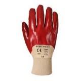 PVC Venti handschoen Tricot Manchet