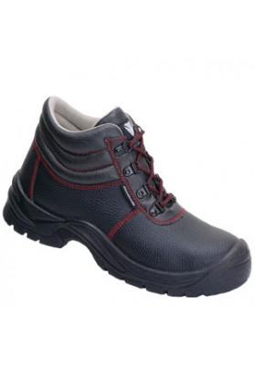 Maxguard A410 ADAM half hoge schoen rundleer zwart S3