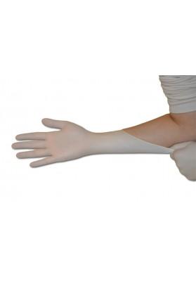 Latex handschoenen poedervrij - wit